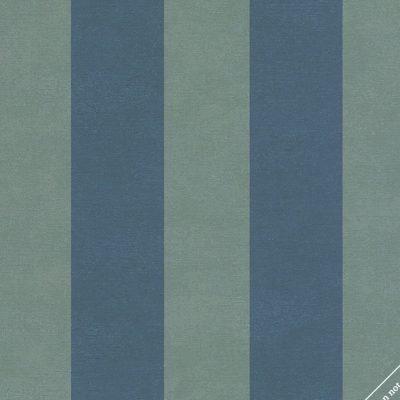 marburger-tapete-blaue-blockstreifen